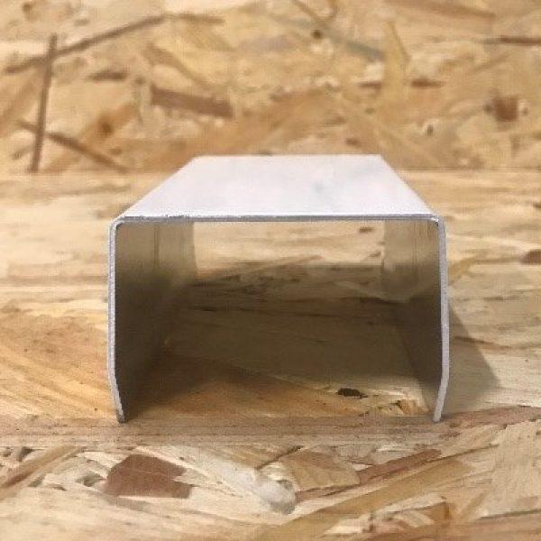 u en aluminium 40 mm EXT