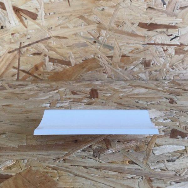 Congé d'angle en PVC avec lèvres-EXT